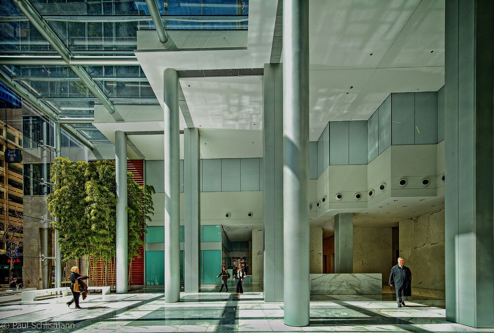Office building lobby interior_Los Angeles Architectural Photographer