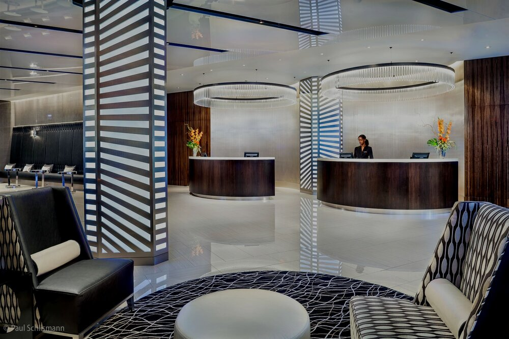 Las Vegas architectural photographer _ Hotel interior view
