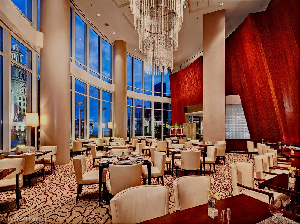 interior photographer Las Vegas _ Trump Tower restaurant