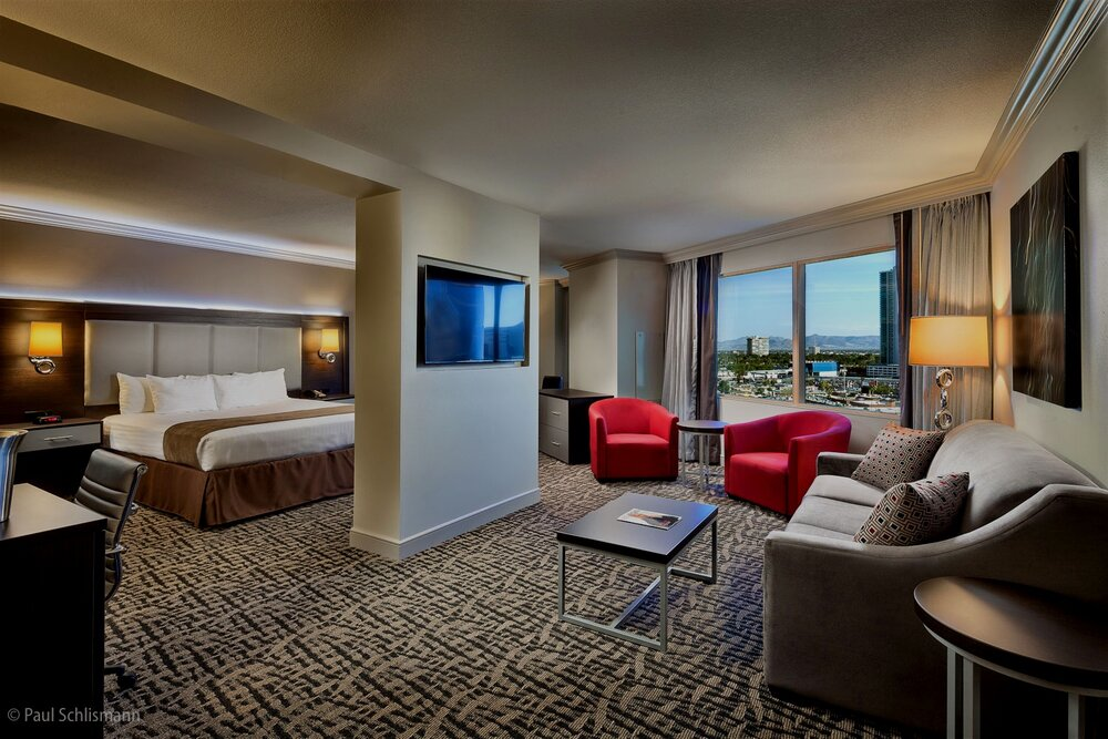 Las Vegas interior photographer _ Guest room in Stratosphere and Hotel