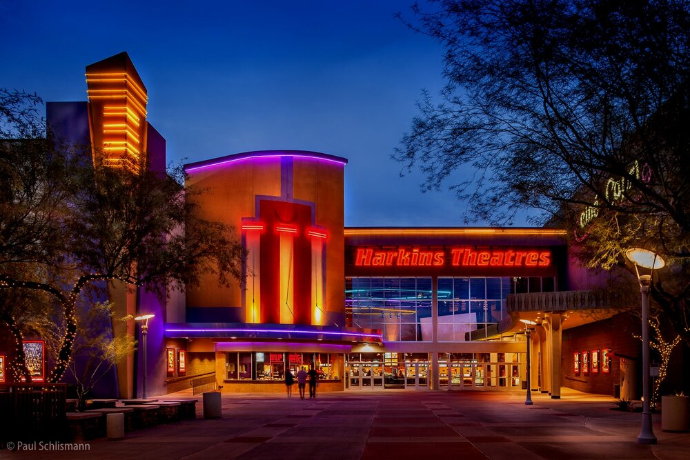 Phoenix architectural photographer | Harkin's Theater, Arizona.