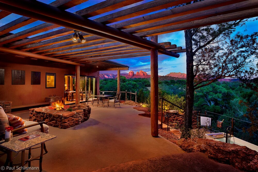 Sedona Architectural Photographer | Suncliff Resort, Sedona AZ.