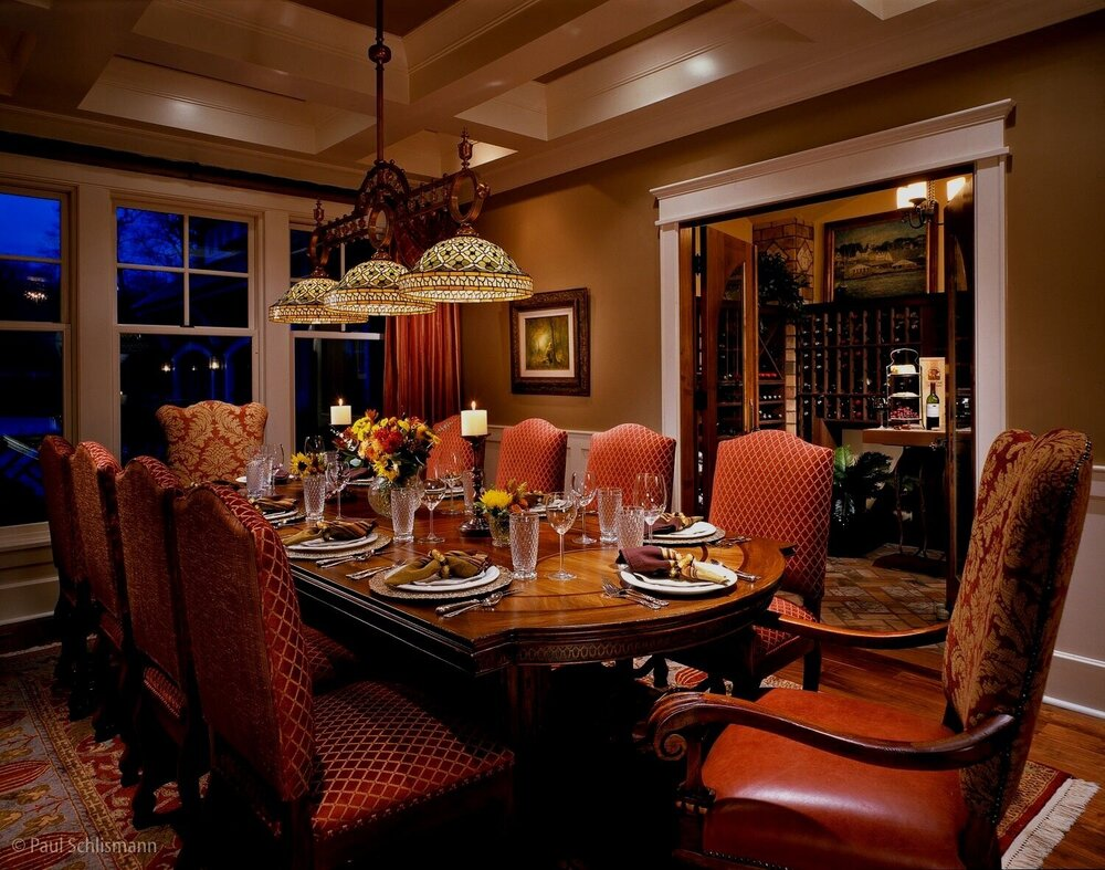 Sedona interior photographer | dining room, private residence