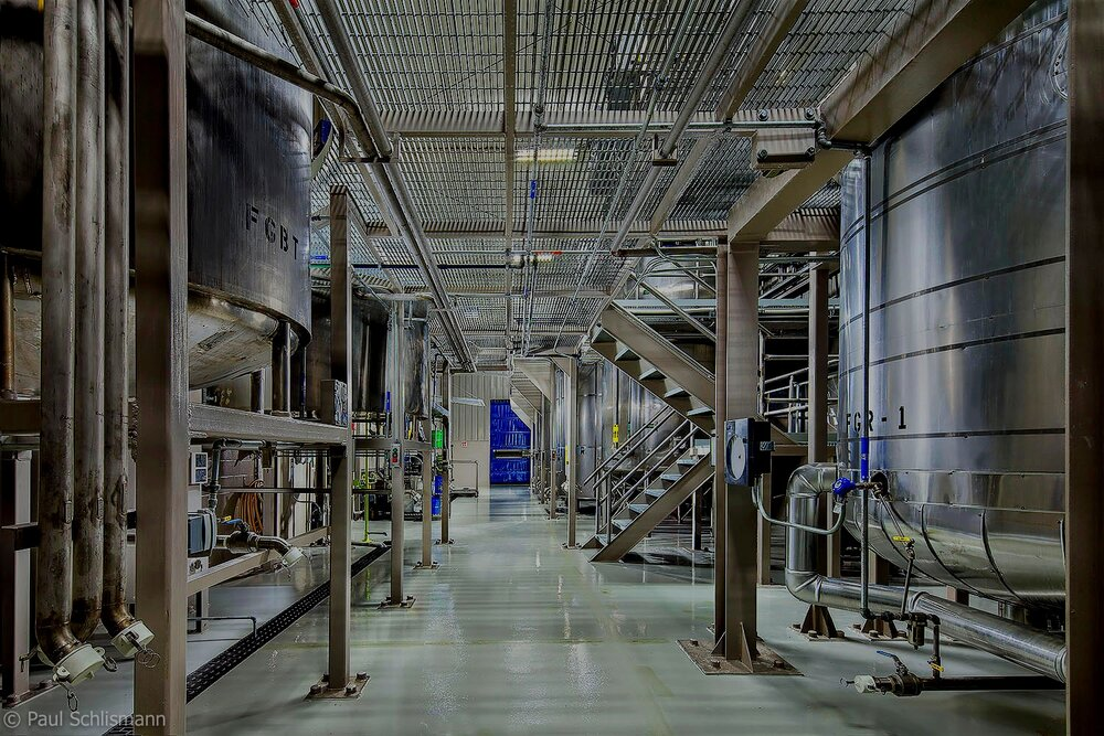 interior of industrial plant. Photo by Sedona Commercial photographer | Paul Schlismann