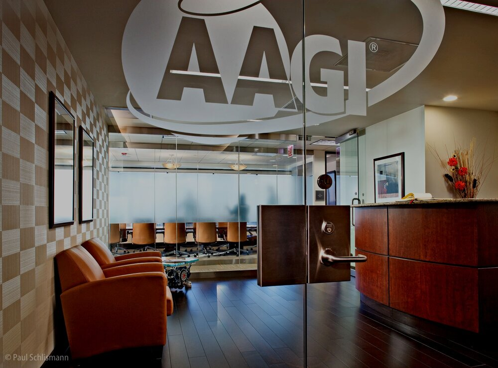 AAGI lobby| Phoenix corporate photographer Paul Schlismann