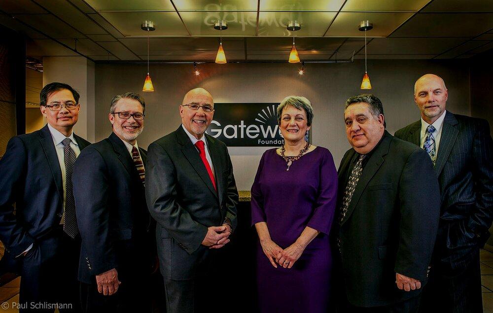 Phoenix Corporate photographer | Gateway Foundation group portrait