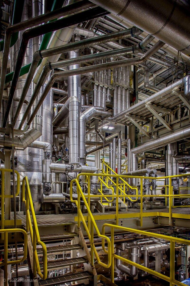 Phoenix industrial photographer | Interior of industrial plant