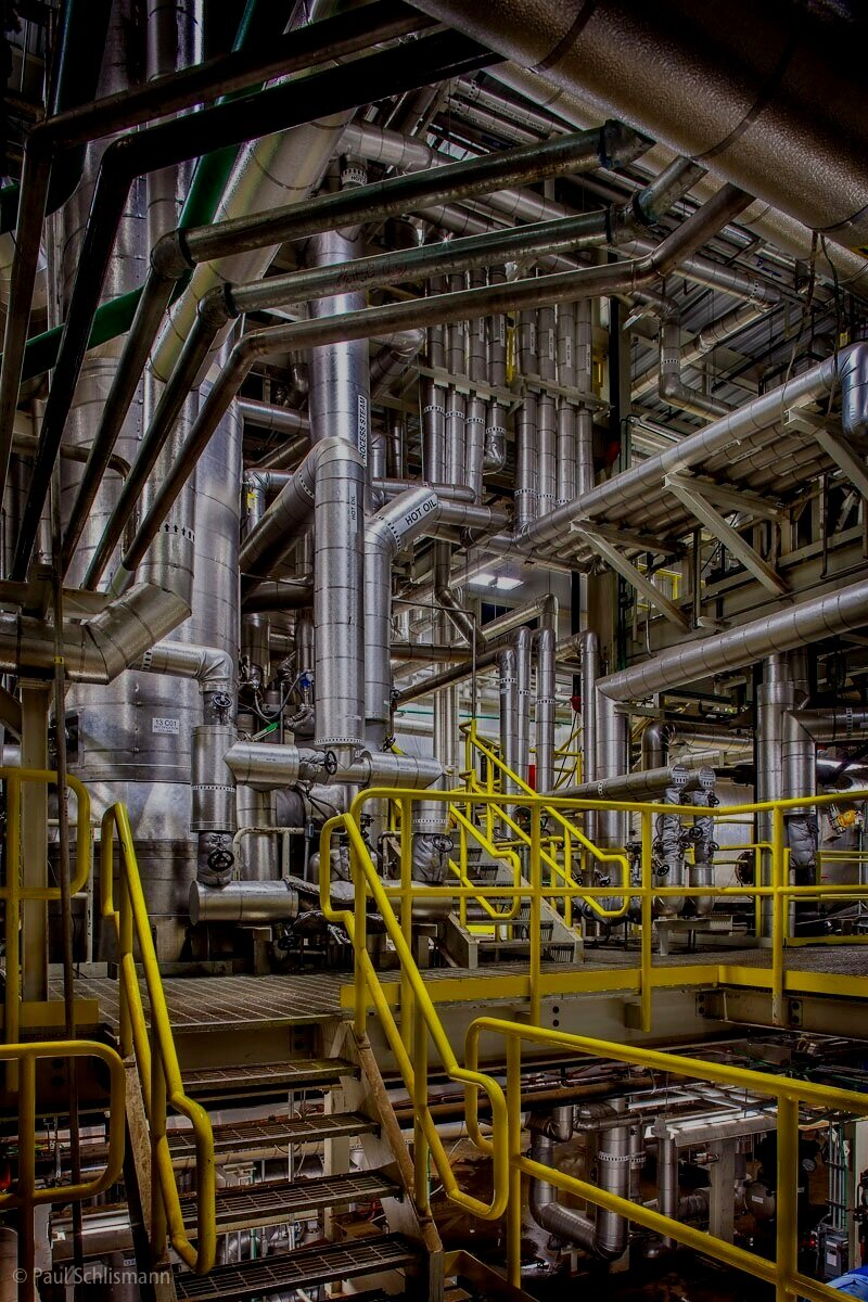 Copy of Phoenix industrial photographer | Interior of industrial plant