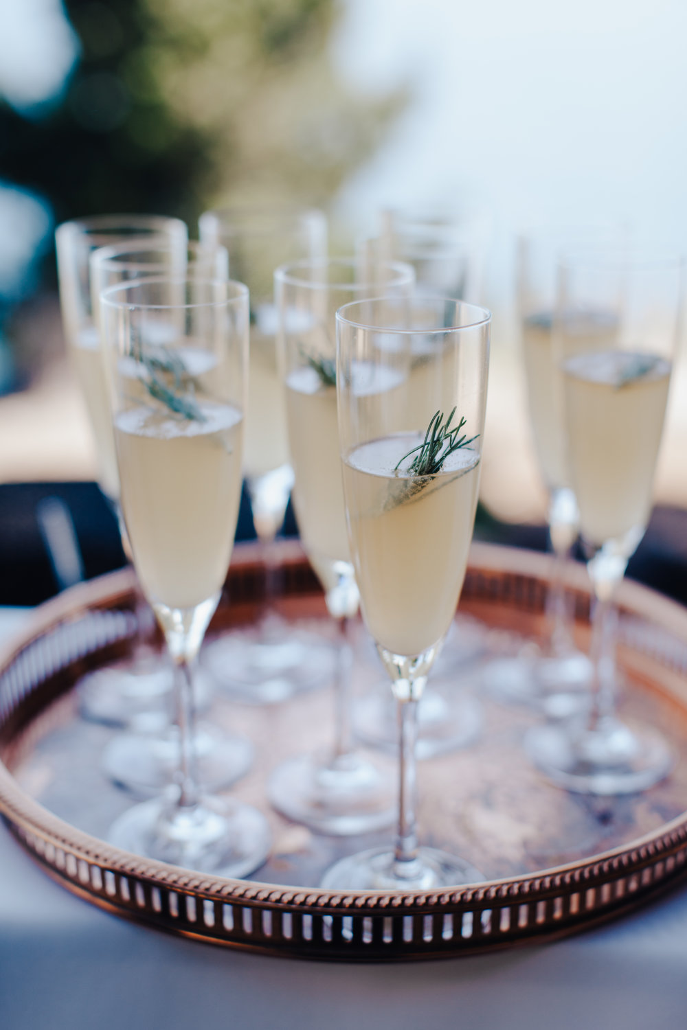 image by Evynn LeValley   GOLDEN BUBBLY   Make with or without sparkling wine.   1 oz. lemon juice  0.5 oz. simple syrup  1 tsp. your choice  GOLDEN BEAR BITTERS   SPARKLING WINE OR SPARKLING WATER  Add first 3 ingredients to a champagne flute. Top with sparkling wine or water. Cheers!
