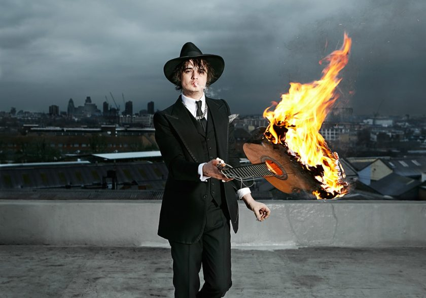 Pete Doherty – Shot by Jude Edginton on a Camden rooftop. 2009 . © Jude Edginton / INSTITUTE