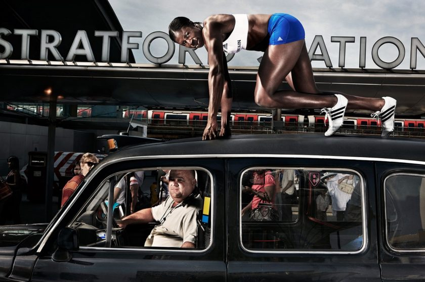 Christine Ohuruogu , Photographed for Adidas. Britain United. © Jude Edginton / INSTITUTE