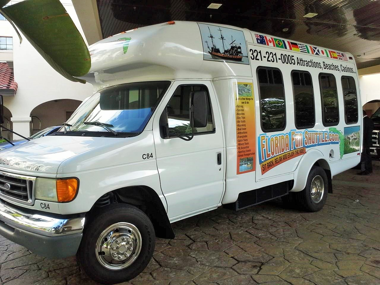 The Florida Fun Shuttle will customize a tour through Seminole County.