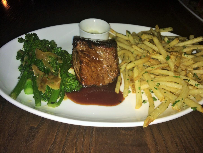 steak frites american style