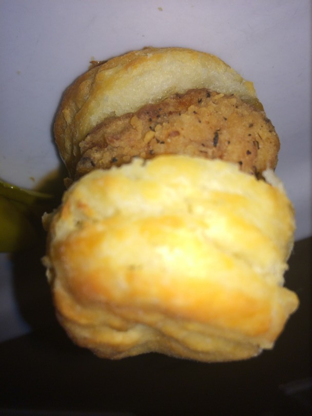John Rivers of The COOP made Southern Chicken 'N Biscuits