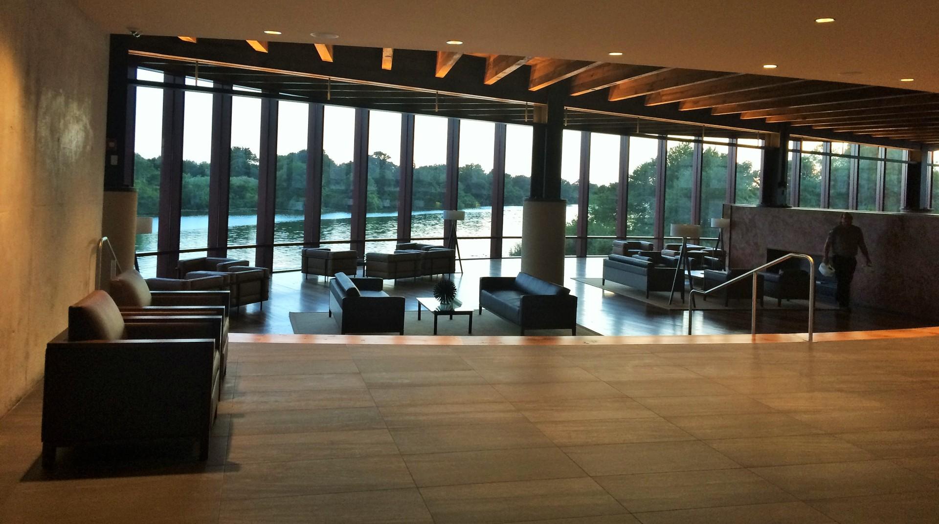 Streamsong's lobby