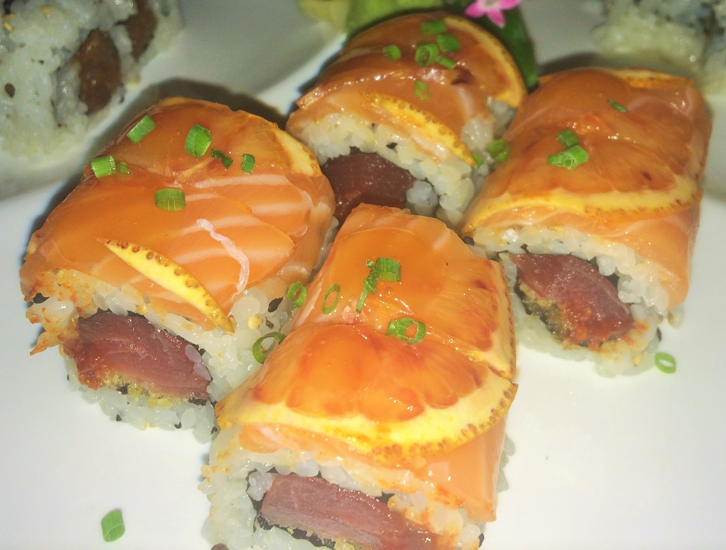 Sushi Pop's Red Eye roll