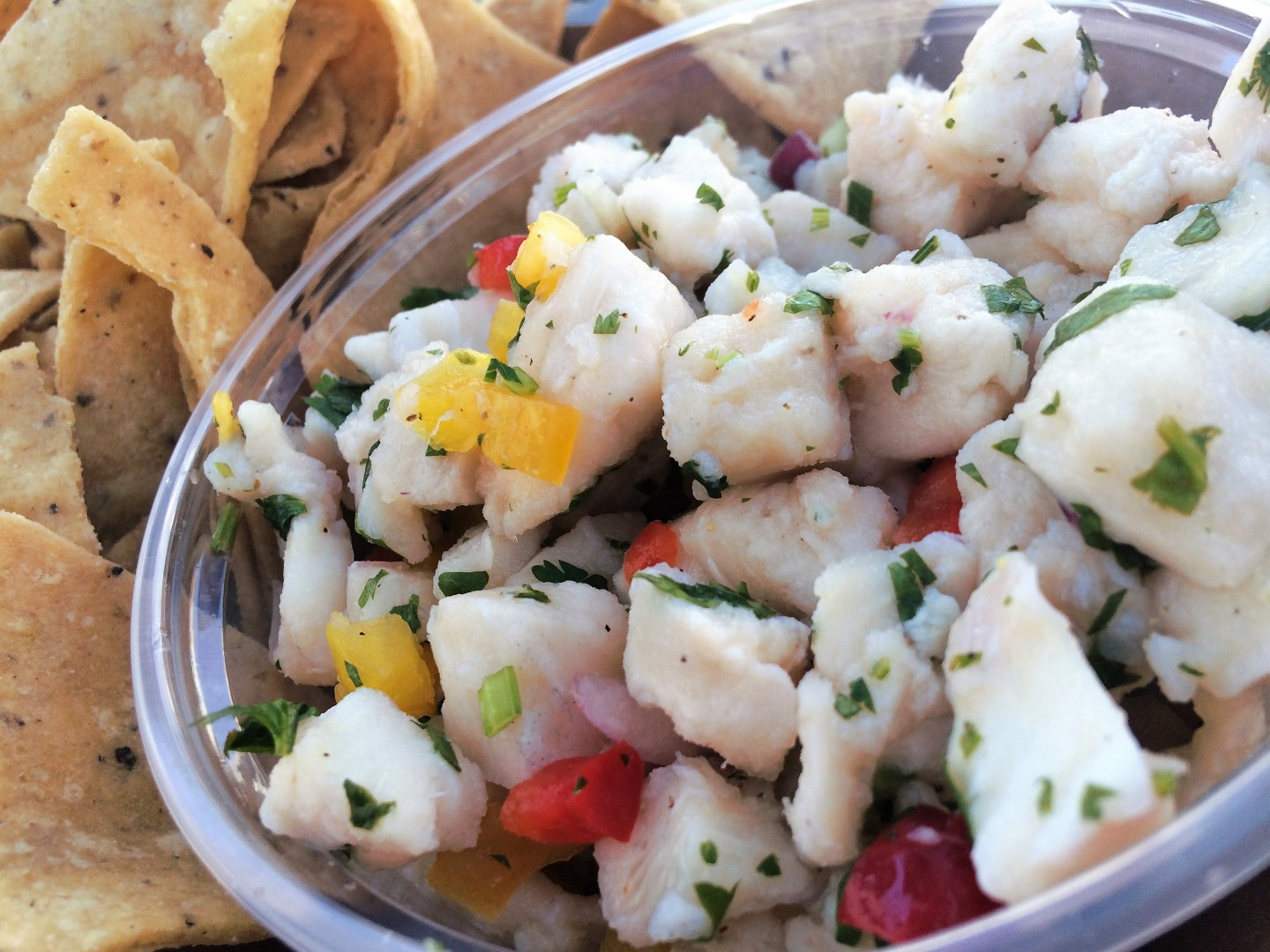 Bear Flag Fish Co.: Peruvian ceviche
