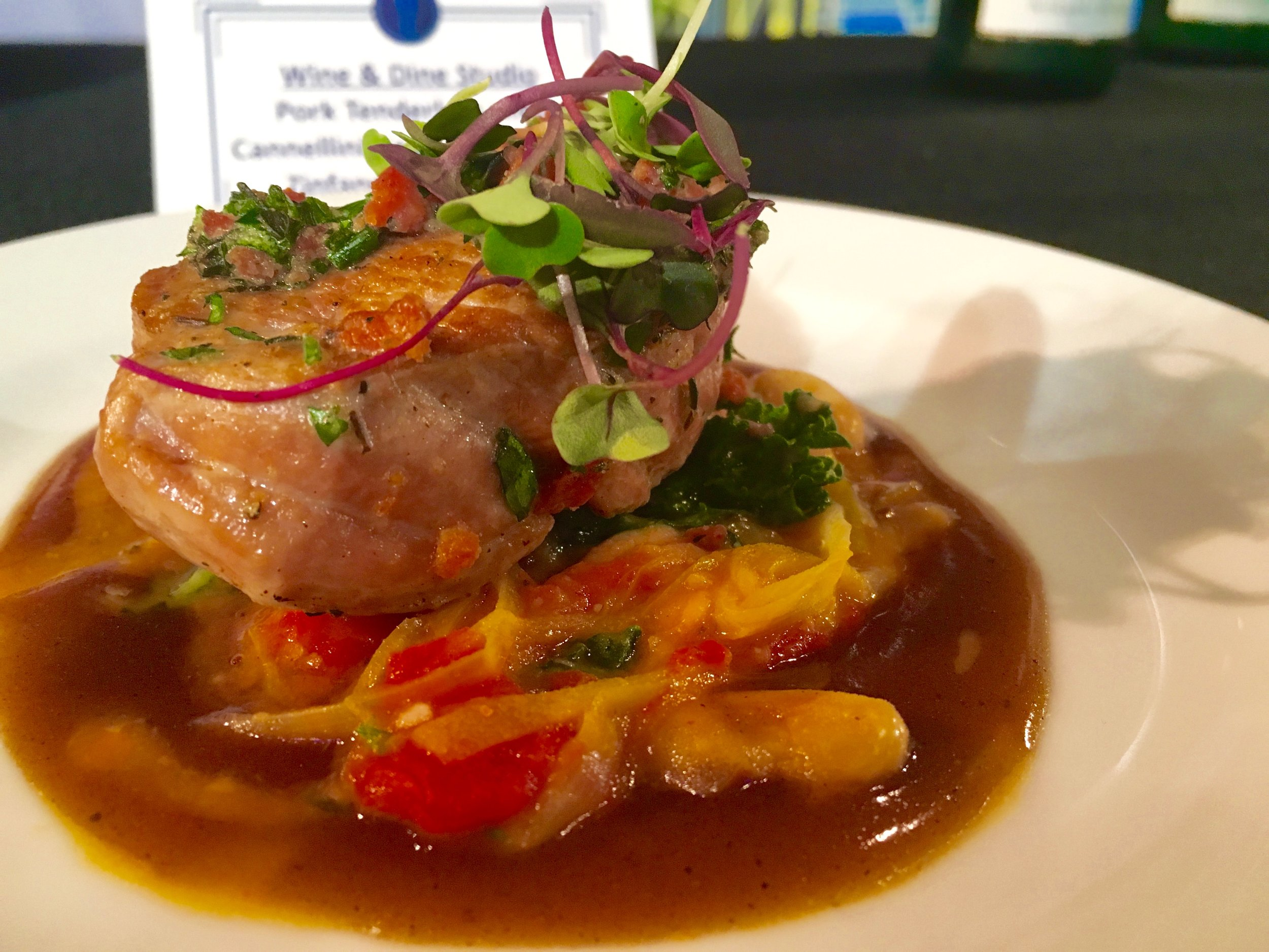 Pork tenderloinBest New Dishes at Epcot Food and Wine Festival 2016