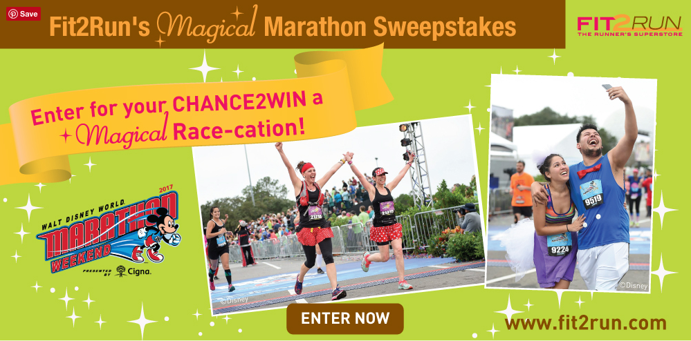 Win a Disney marathon weekend for two