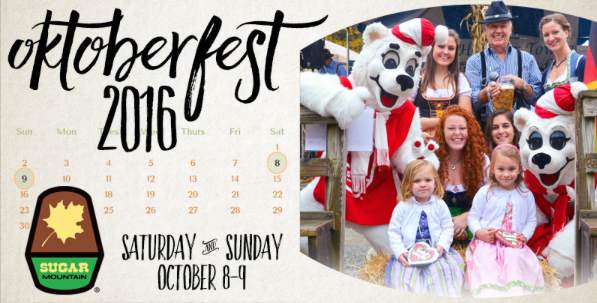Oktoberfest at Sugar Mountain resort