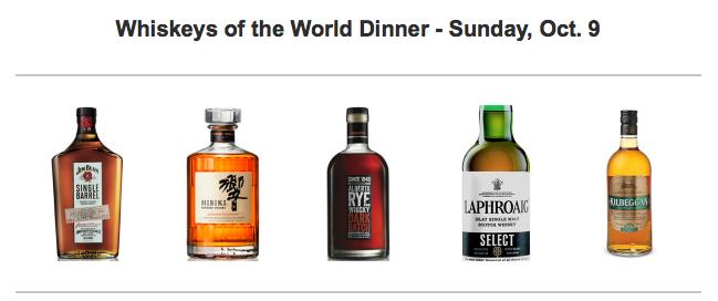 Try the World's Whiskeys at Cask & Larder
