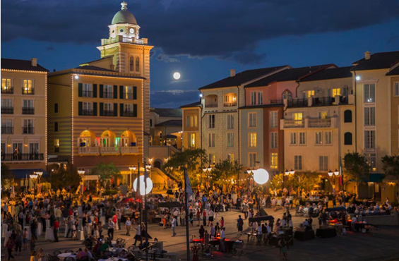 Harbor Nights at Loews Portofino Bay Hotel