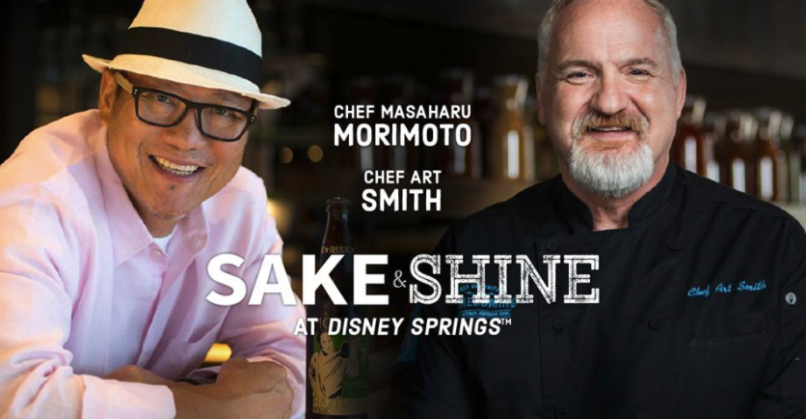 Have an Asian Dinner with American Dessert Morimoto Asia Chef Art Smiths  Homecoming Kitchen Disney Springs