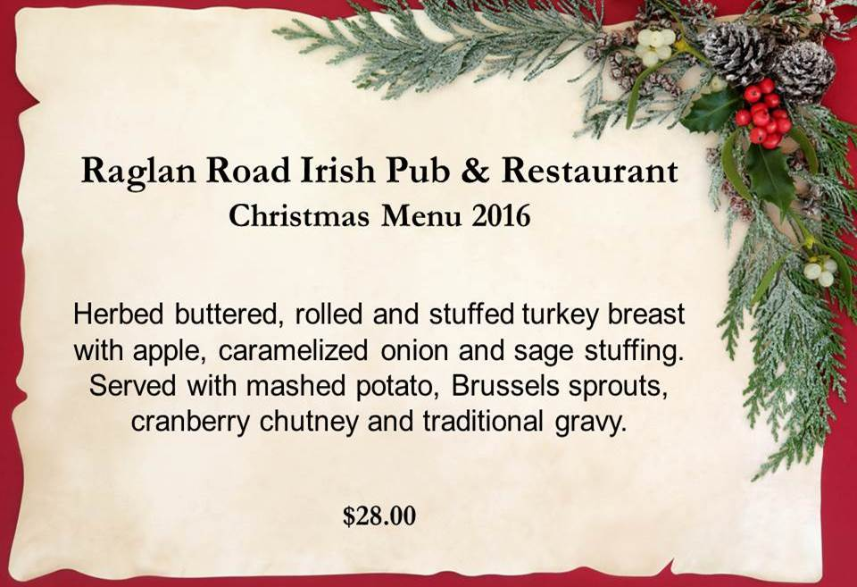 Where to Eat on Christmas and Christmas Eve in Orlando 2016 Raglan Road