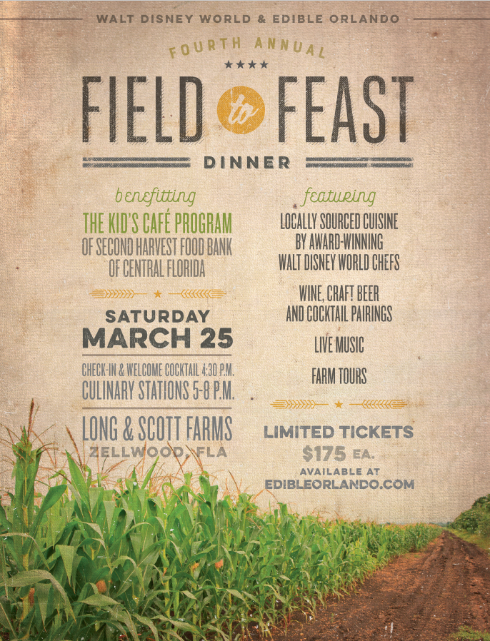 Dine Under the Stars at the 4th Field to Feast Dinner