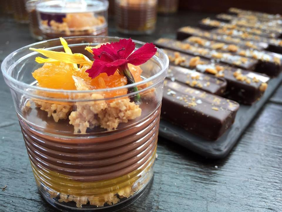 Insanely special chocolate desserts by The Ganachery. Photo courtesy of Kelly Green/Edible Orlando
