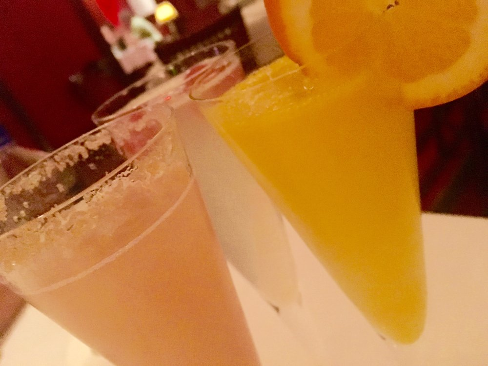 Mimosas and bellinis can begin your Capital Grille Easter brunch for $12 a pop.