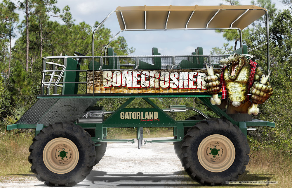 Gatorland Will Open an Off-Road Adventure