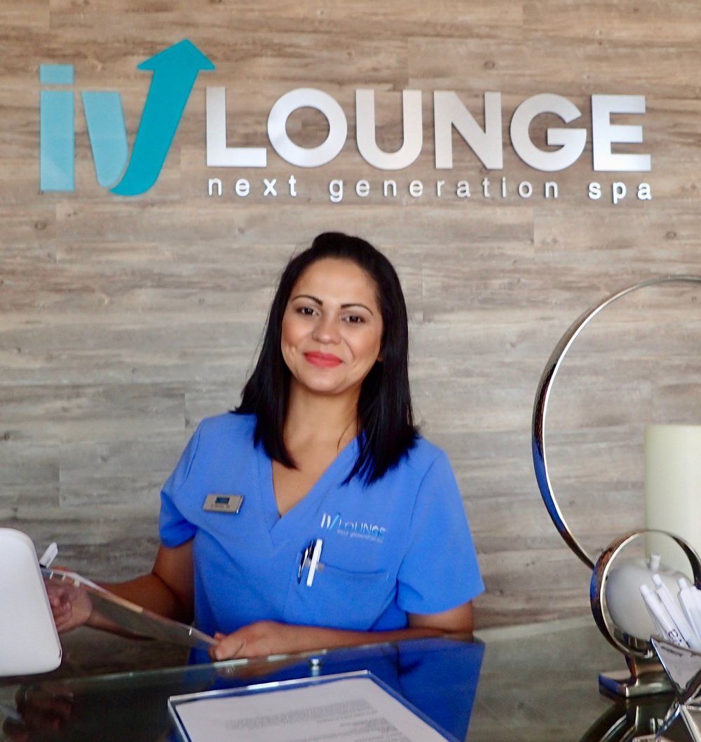 An IV Lounge: Next Generation Spa nurse