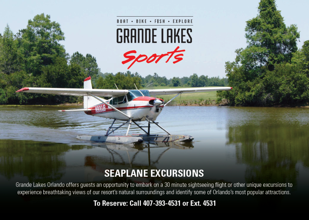 Fly a Seaplane (!!) at Orlando's Ritz-Carlton