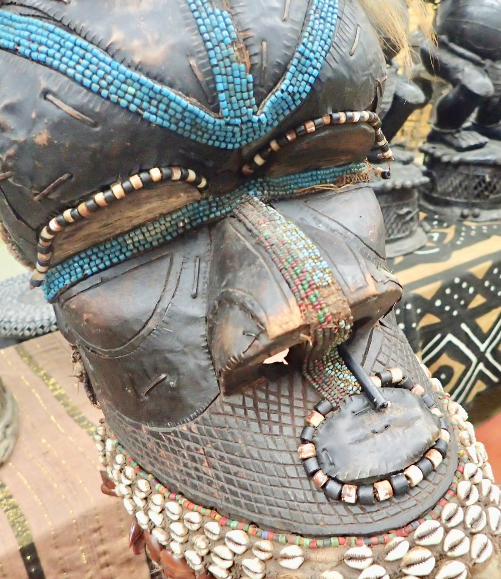See African Tribal Art at Bronze Kingdom mask