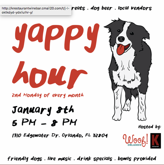 Dogs, Demos and  Wine Flights at K Restaurant.png