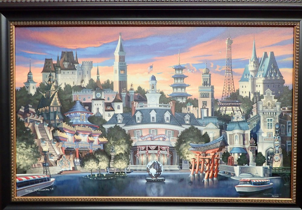 Magic Water, Living Statues, Pork Roulade – 7 Highlights at the Epcot Festival of the Arts 2018 official painting