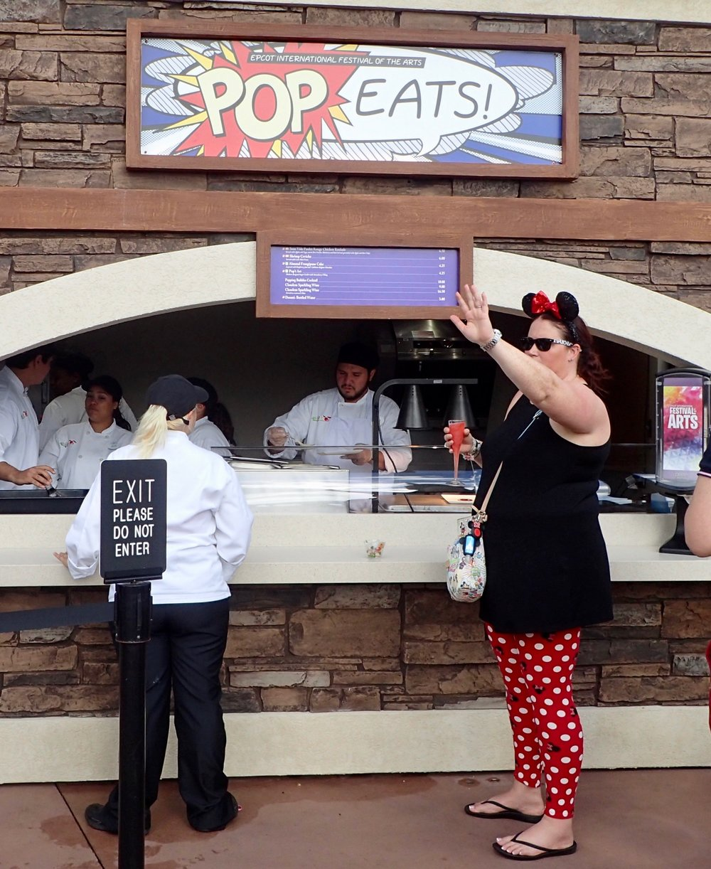 Magic Water, Living Statues, Pork Roulade – 7 Highlights at the Epcot Festival of the Arts 2018 food studio