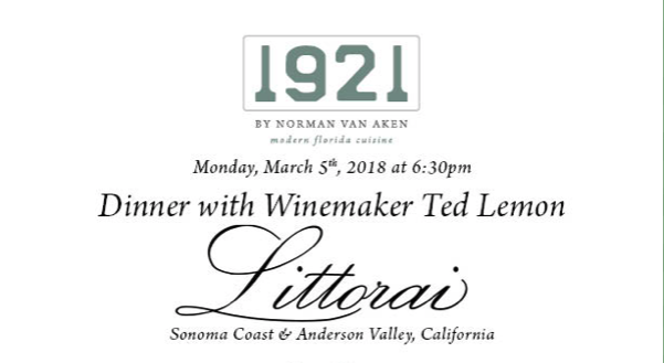 Drink Littorai Wines at a 1921 by Norman Van Aken Dinner.png