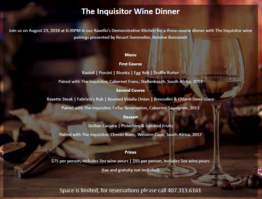Try Inquisitor Wines at a Four Seasons Dinner.png