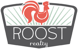 Logo for ROOST Realty, home realtors in Madison, Wisconsin