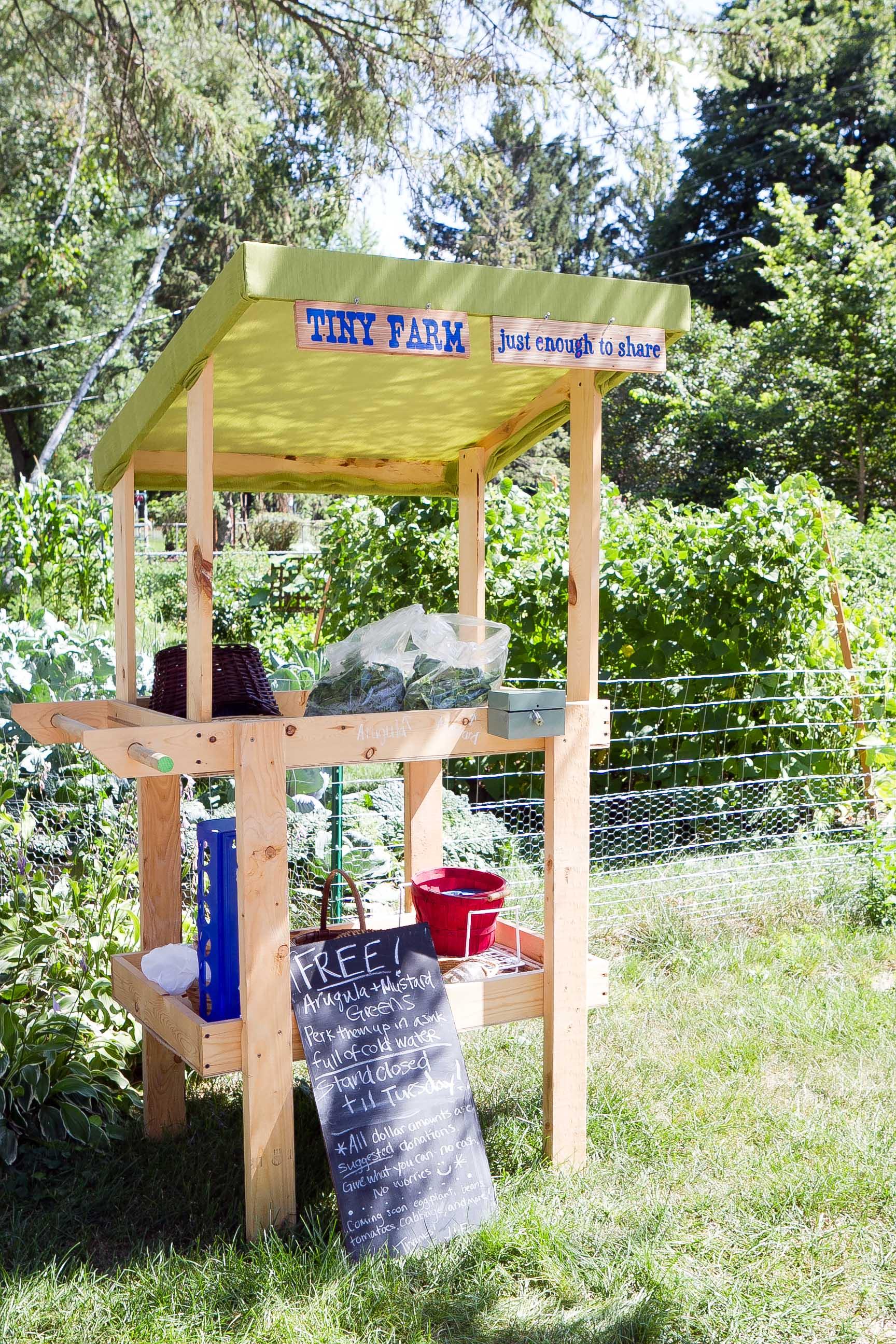 Tiny Farm Stand