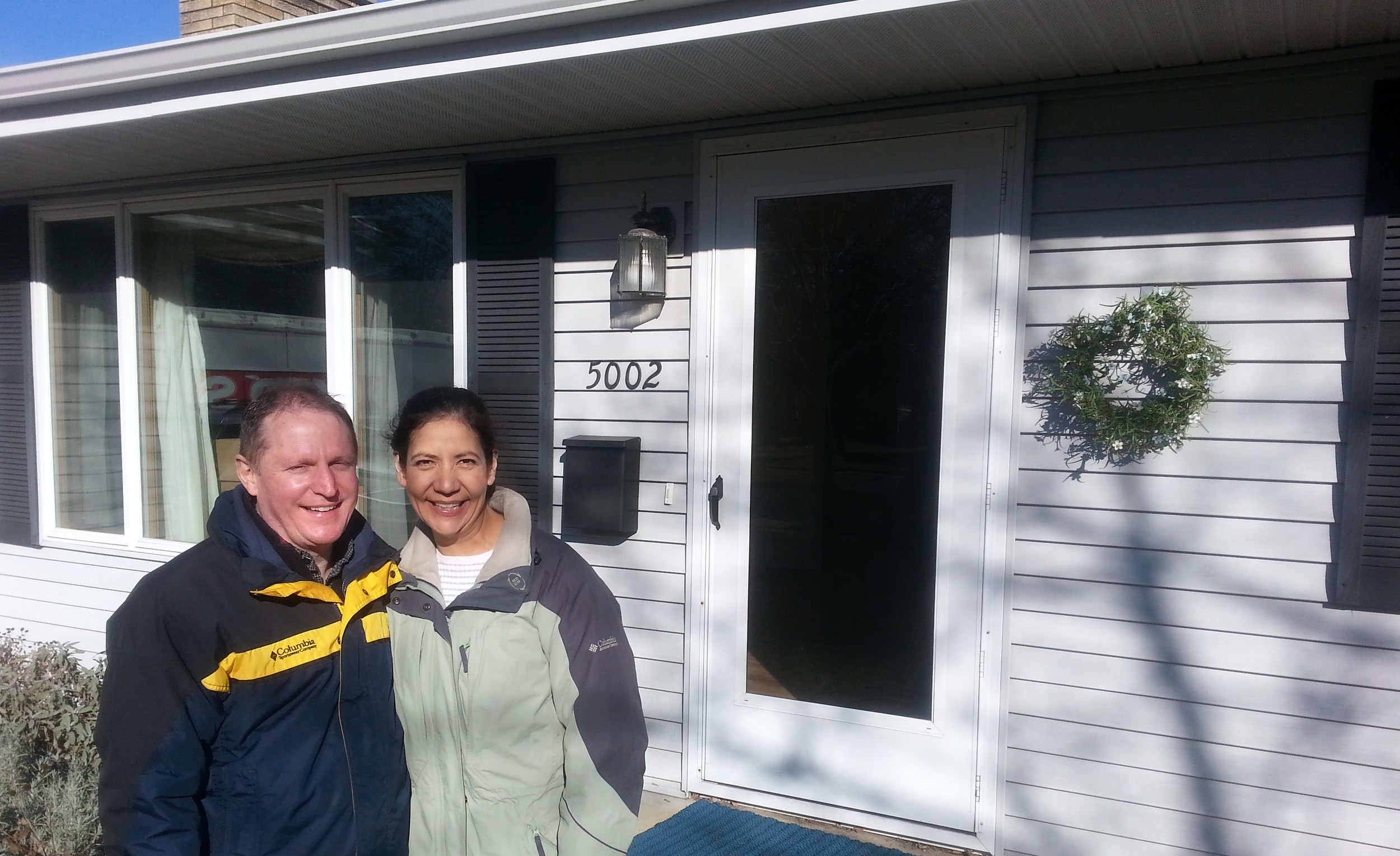 Bruce and Lisa Stein: happy homeowners, thanks to ROOST!