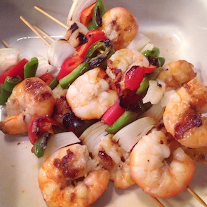 APL Simple Shrimp Kabobs
