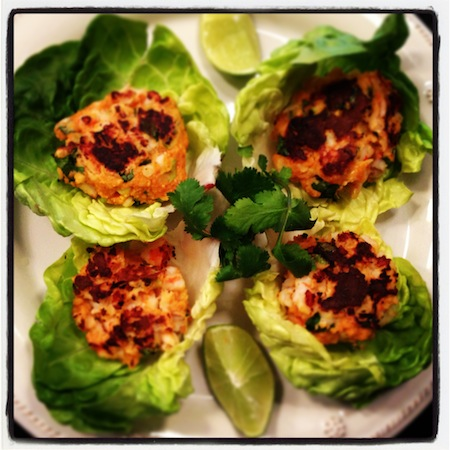 Tasty Shrimp Cakes