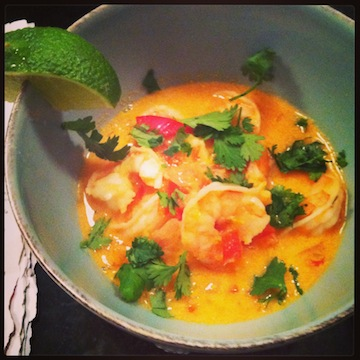 Red Curry Thai Shrimp