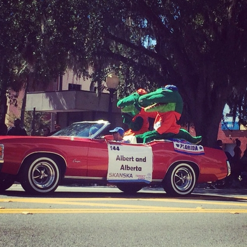 University of Florida Homecoming Parade -  courtesy Heather Beattie