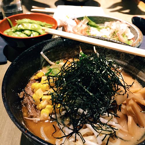 Ramen at Dragonfly Sushi & Sake Company - courtesy   M  elanie Ling