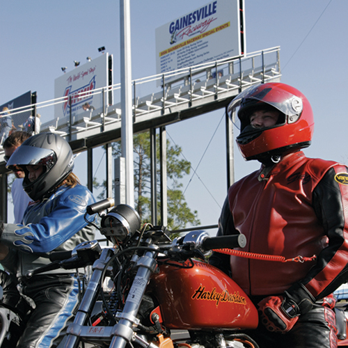 Gainesville Raceway -  courtesy   Visit Gainesville