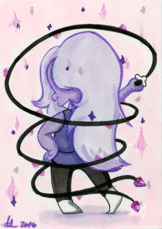 Mini Amethyst - Steven Universe